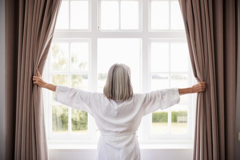 Mycie okien w domu
